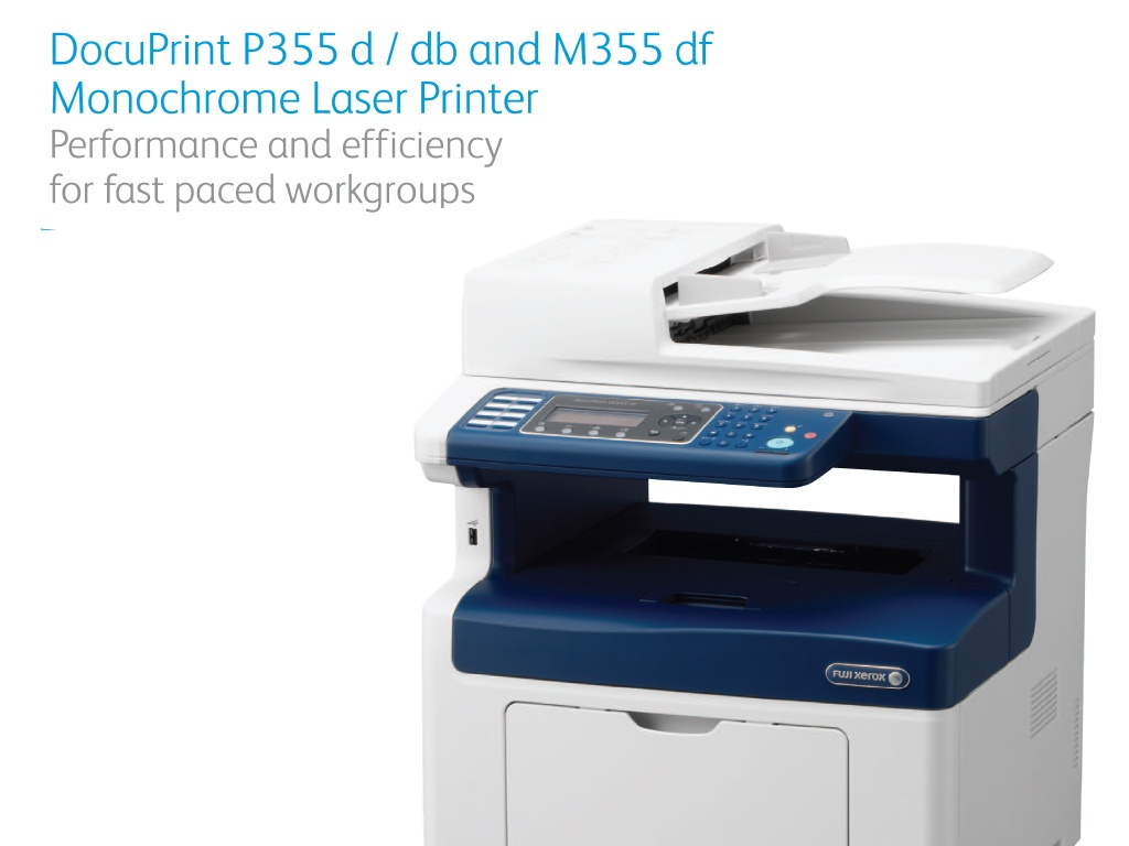 G C S  | Xerox M355DF